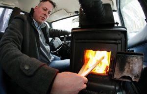 بخاری برقی خودرو